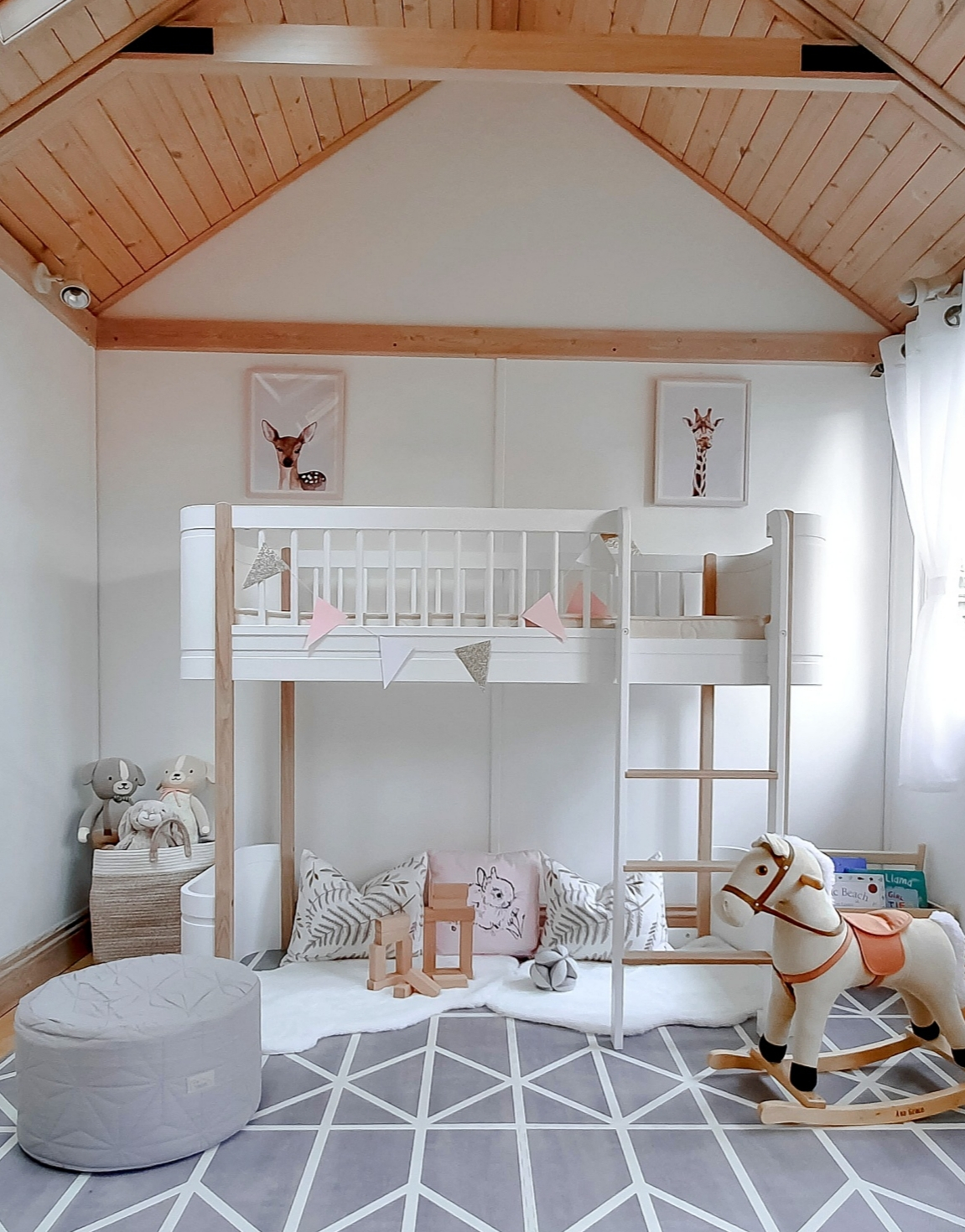 Picture of: Our Toddler S Garden Playhouse Review Of The Mini Low Loft Bed Lux Mumma